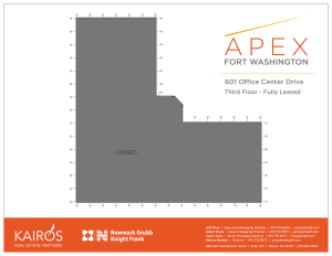 APEX 601 Office Center Drive FL3